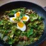 Broccoli groene kruidensaus
